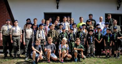Obóz letni w Woziwodzie