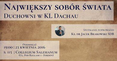 Największy Sobór Świata, czyli duchowni w KL Dachau