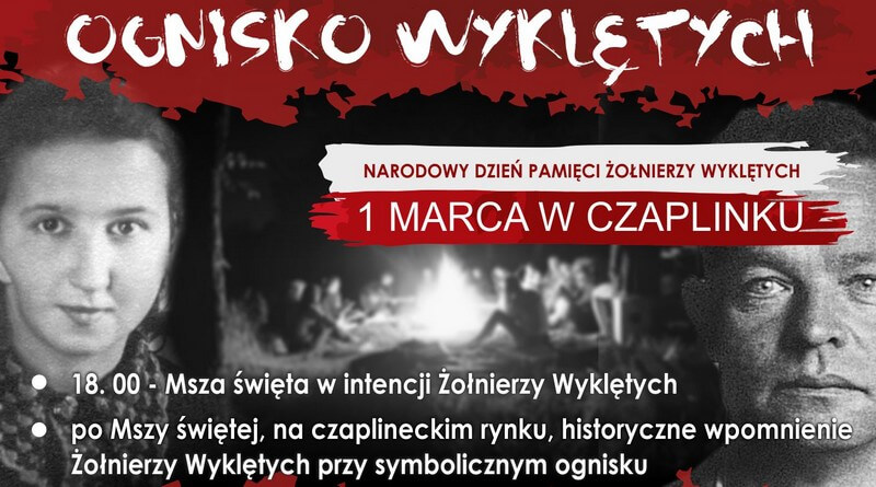 Narodowy Dzień Pamięci Żołnierzy Wyklętych Czaplinek