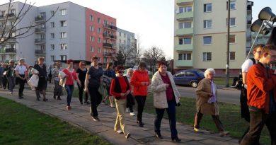 Pierwszy Pokutny Marsz Różańcowy za Ojczyznę.