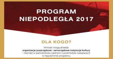 """Projekt programu """"Niepodległa"""" w Czaplinku"""