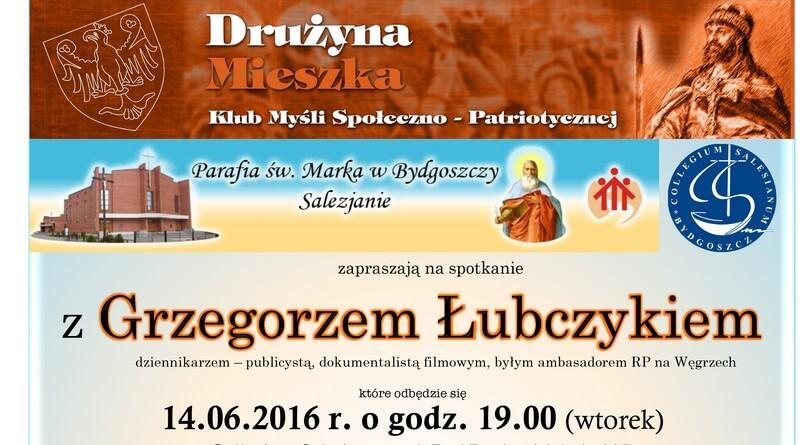 Spotkanie z Grzegorzem Łubczykiem w Collegium Salesianum