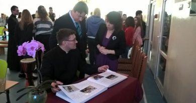 Spotkanie z ks. Brakowskim Słupsk