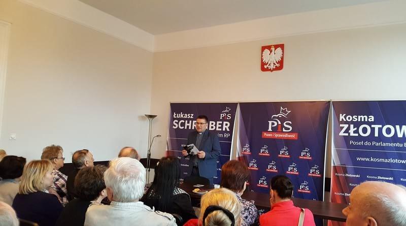 Spotkanie z Łukaszem Schreiberem