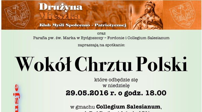"""Spotkanie """"Wokół Chrztu Polski"""""""