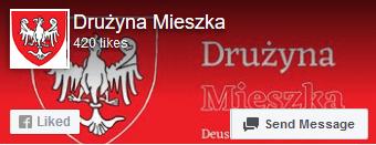 Drużyna Mieszka Fan page facebook